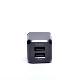 エアージェイ AC CUBE 2ポート 2.4Aキューブ型充電器