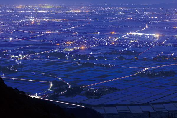 カメラマン 2021カレンダーシリーズ 10 川北茂貴 「四季の夜景旅」