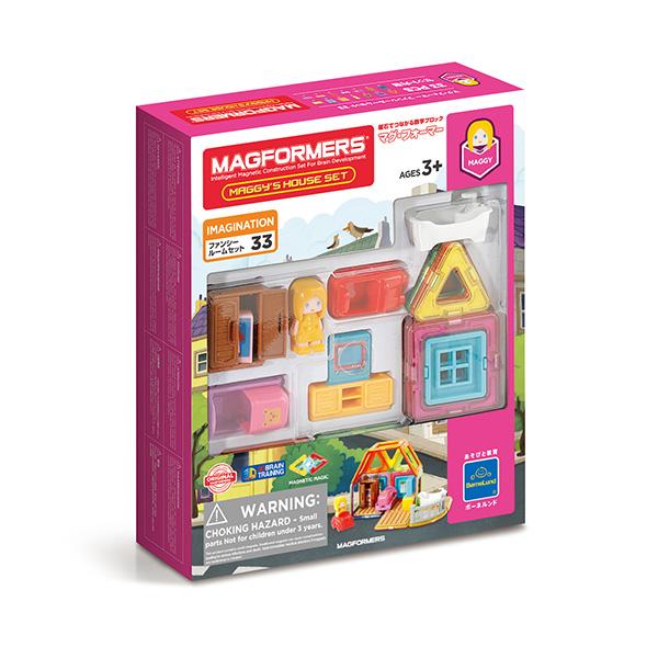 ボーネルンド マグ・フォーマー ファンシールーム 33ピース (BorneLund MAGFORMERS MF705009)