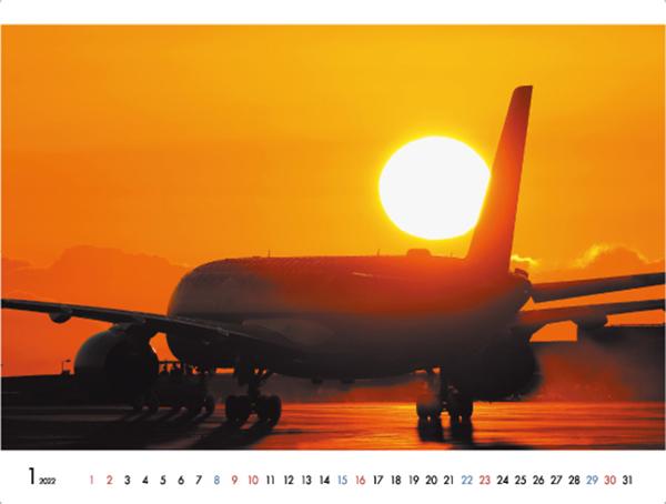カメラマン 2022カレンダーシリーズ 14 吉富直人「SKY SHIP II」