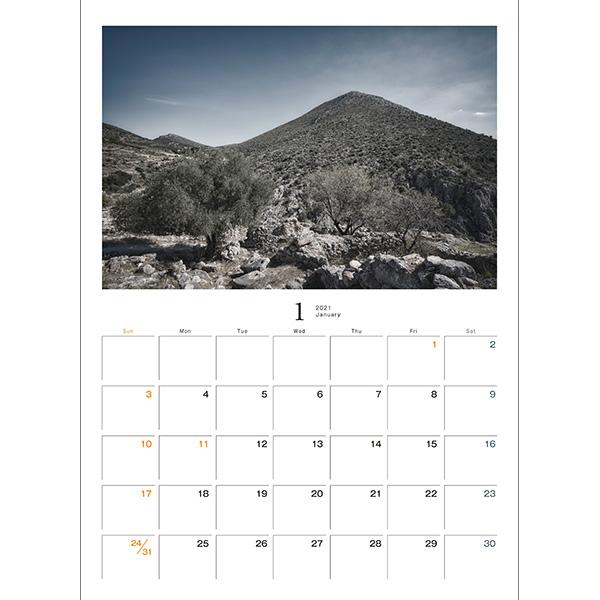 カメラマン 2021カレンダーシリーズ 20 豊田慶記 「Mute World」