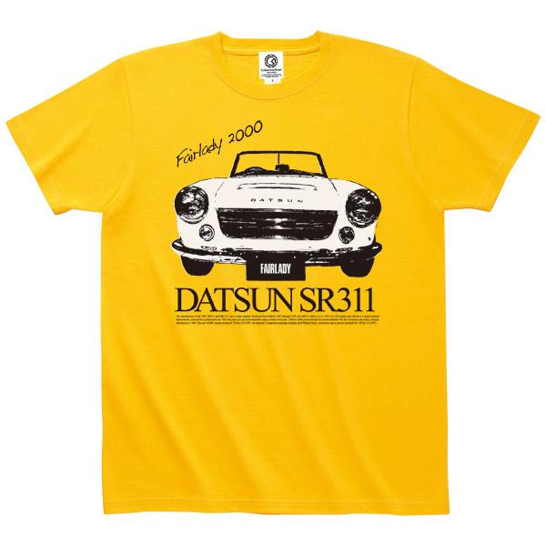 日産カスタムアパレルプロジェクト SR311 FRONT FACE Tシャツ