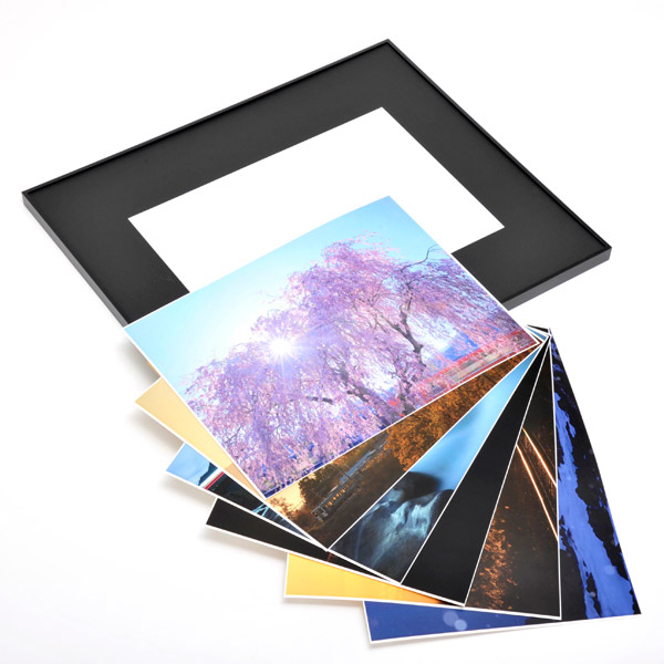 WEBカメラマン オリジナル作品額装セット 09 レイルマンフォトオフィス 「傑作選」