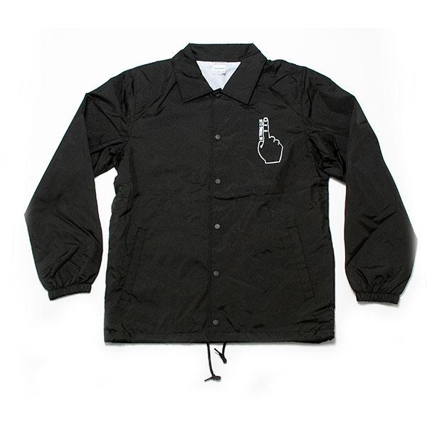 RGTC コーチジャケット ブラック