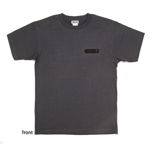 東本昌平RIDE 道標(みちしるべ)Tシャツ