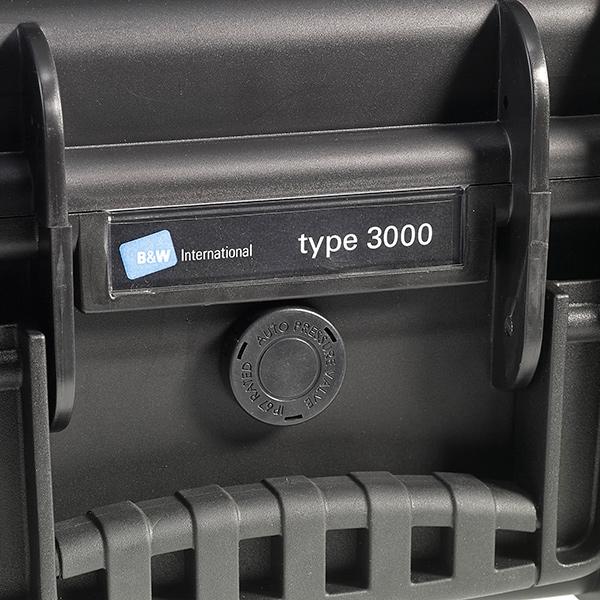 B&W アウトドアハードケース タイプ3000 / B&W OUTDOOR HARD CASE TYPE3000
