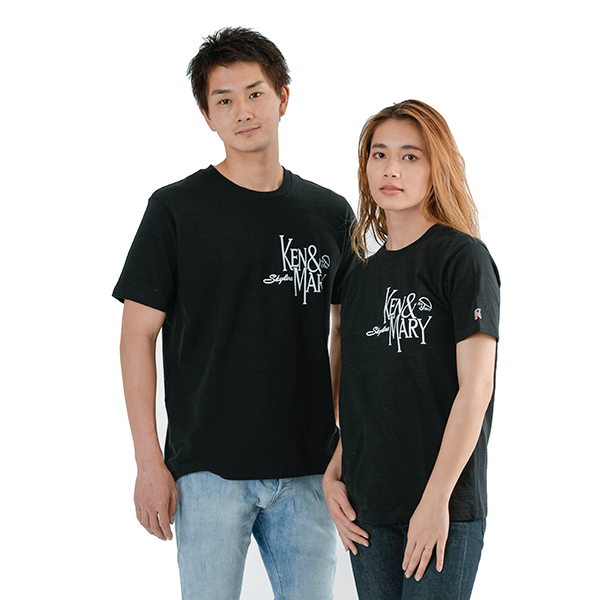 Ken & Mary Revival 2020 ケンとメリーのTシャツ with Rバッジ ver.A