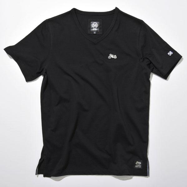 56design V-neck Tee[Bike](Vネック Tシャツ バイク)