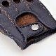 カカザン ドライビンググローブ CACAZAN SDR-071R ラムレザー ネイビー×ブラウン 羊革 ドライビング グローブ 半指 紺 茶 本革 父の日 ギフト
