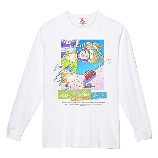 The Roadster Story #1 Two Rider for a few… / Long T-shirts Illustration by Shohei Harumoto スーパーヘヴィー長袖Tシャツ イラストレーション:東本昌平