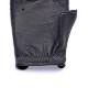 カカザン ドライビンググローブ CACAZAN DDR-040 ブラック シルバーステッチ  半指 鹿革 黒 本革 プレゼント 誕生日 ギフト
