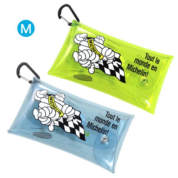 ミシュラン  クリア ポーチ M ランビブ Michelin Clear pouch M Run bib