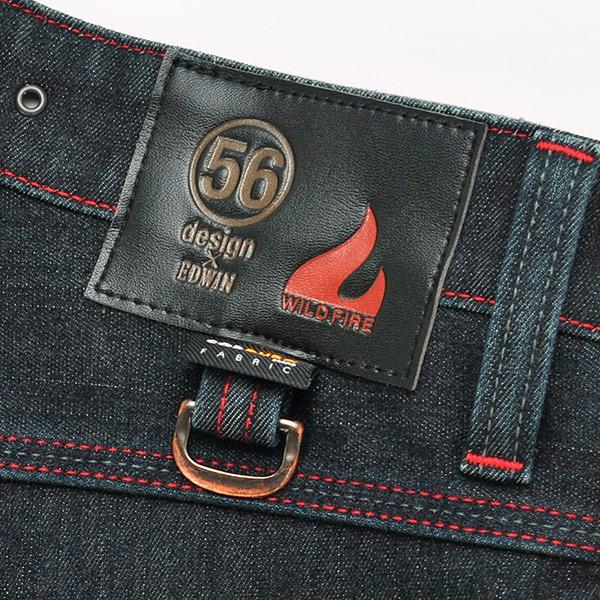 56design x EDWIN 056 Rider Jeans CORDURA WILD FIRE/ライダージーンズ コーデュラ ワイルドファイア