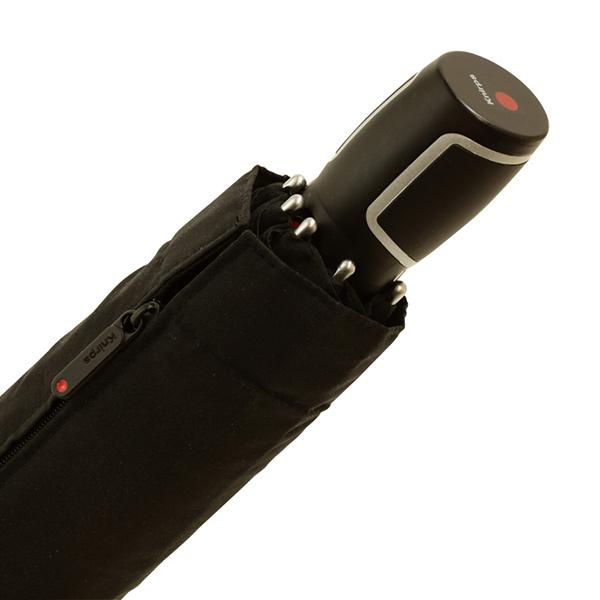 クニルプス Big Duomatic Safety 自動開閉式折り畳み傘 ブラック / Knirps KNF880-710 Black
