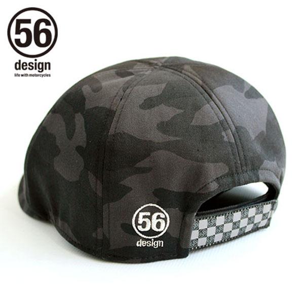 56デザイン ライダース ハンチングキャップ 迷彩 / 56design Riders Hunting MEISAI