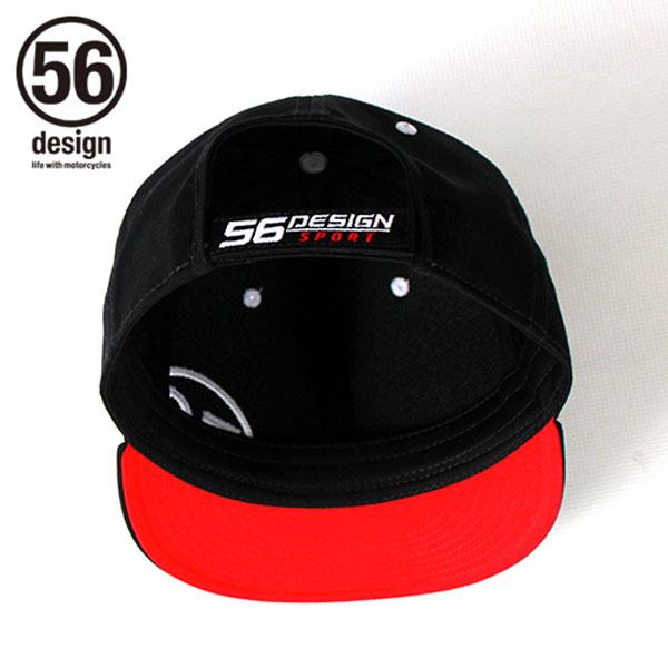 56デザイン スポーツ チームキャップ ブラック / 56DESIGN SPORT Team Cap Black
