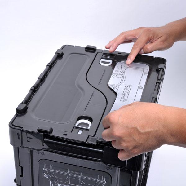 ROADSTER BROS. BP-ZE BOX 20L / ロードスターブロス オリジナル 折りたたみコンテナボックス 20リットルタイプ