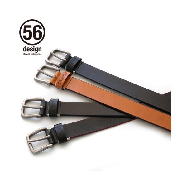 56デザイン ライダース カーブベルト / 56design Rider's Curve Belt
