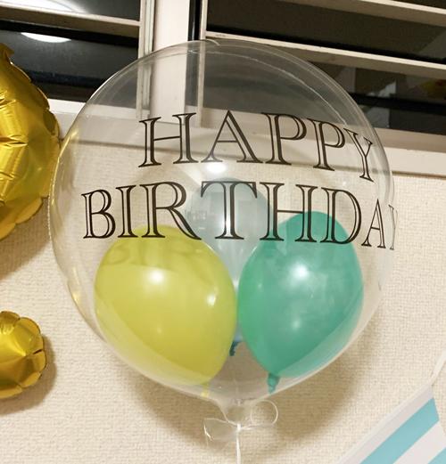 【誕生日セット】新幹線バルーンの誕生日セット 数字バルーン付き!