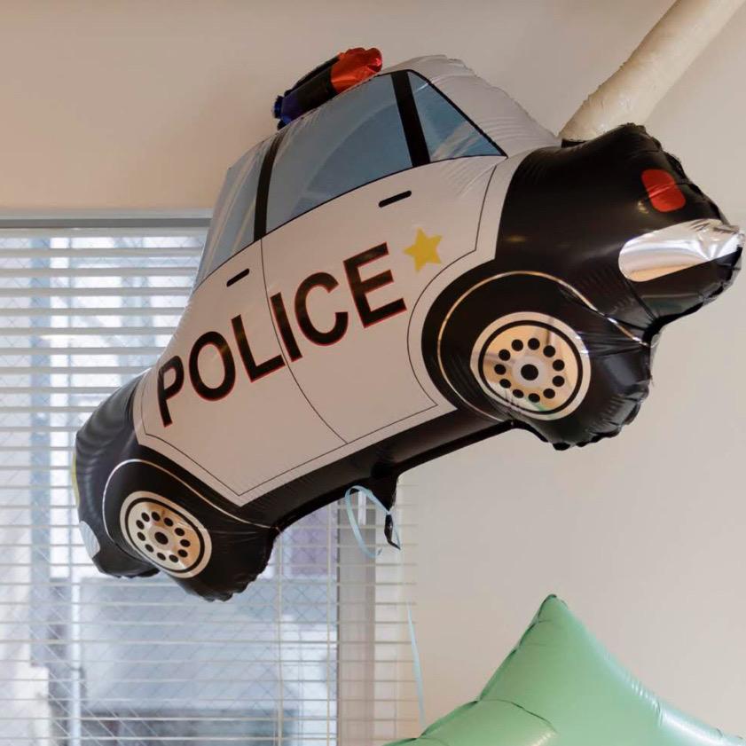 【乗り物 バルーン】 パトカー(ポリスカー パトロールカー)