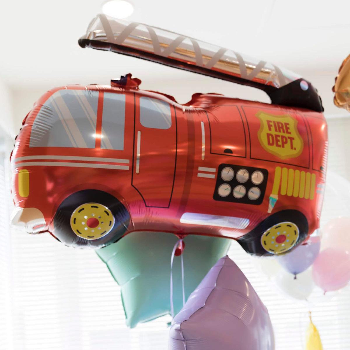 【乗り物 バルーン】 消防車(ファイアーエンジン ファイアトラック)