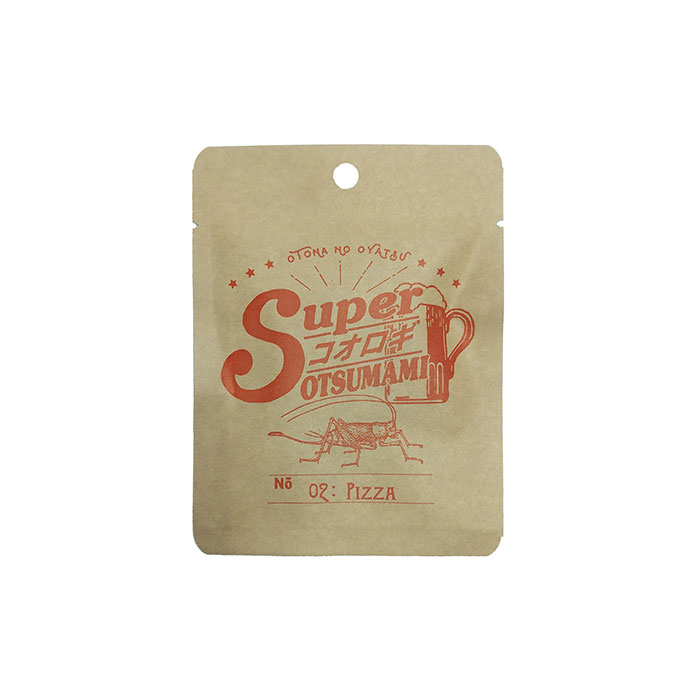 【無償サンプル】スーパーコオロギおつまみ 02ピザ