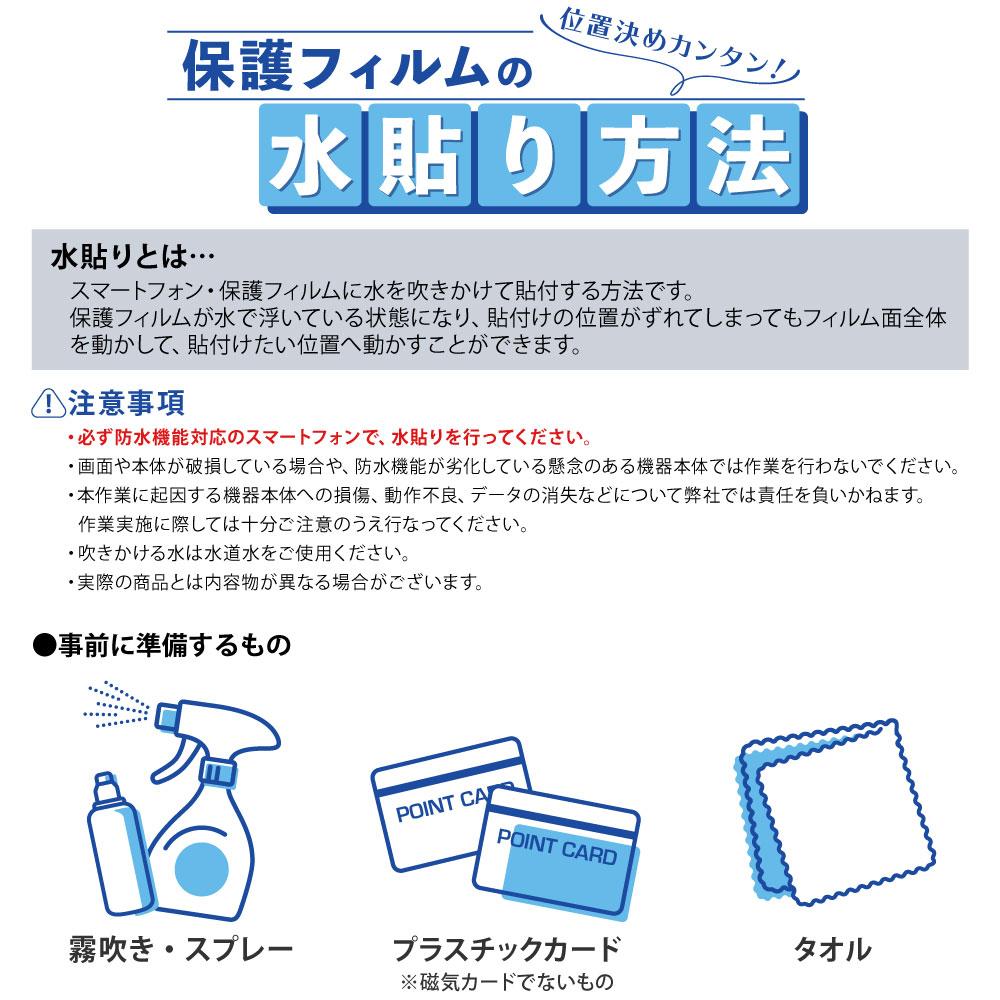 【 Galaxy A52 5G 用】 ノングレアフィルム3 マットフィルム