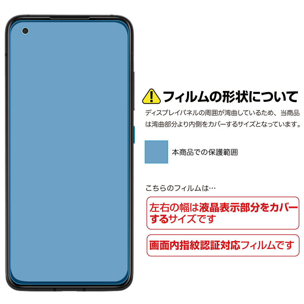 【 Zenfone 8 ZS590KS 用】 ノングレアフィルム3 マットフィルム