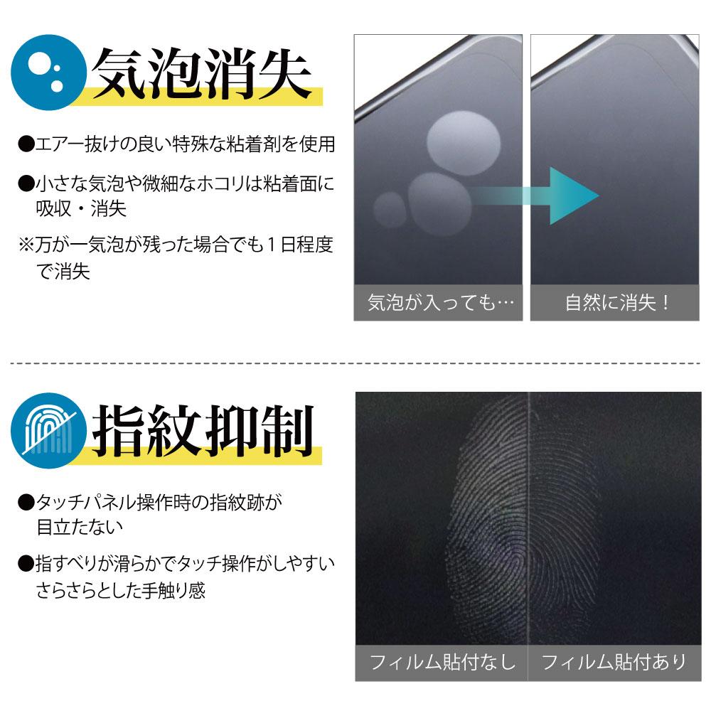 【Galaxy A41 用】 ノングレアフィルム3 マットフィルム