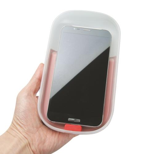 ROA7268<br>スマートフォンUV除菌器 Dr.カプセル ブラック