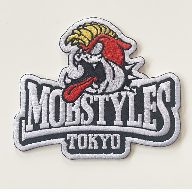 MOBSTYLES ロゴ ワッペン