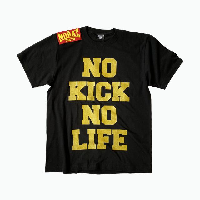 NO KICK NO LIFE GOLDプリント Tee