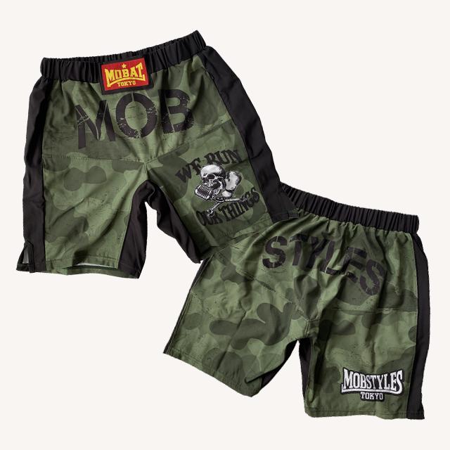 MOSH PANTS ARMY GREEN ZIPポケット付き
