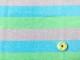 【カット済】30/-CMプレーティング天竺ニット3色ボーダーウォッシュ加工 マリブミント