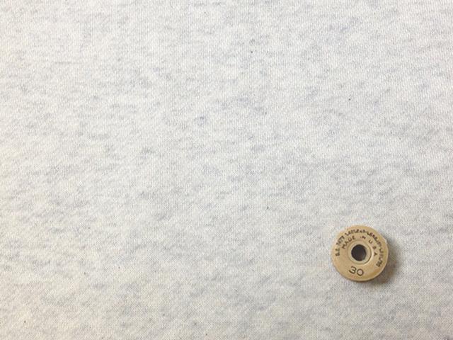 40/10TOP杢裏毛ニット起毛 オートミール杢