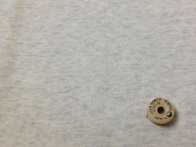 オリジナル30/20TOP杢裏毛ニット オートミール杢