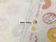 オリジナル30/-TOP杢リバー天竺ニット オートミール杢 ドーナツ・プラネット柄 チョコレート