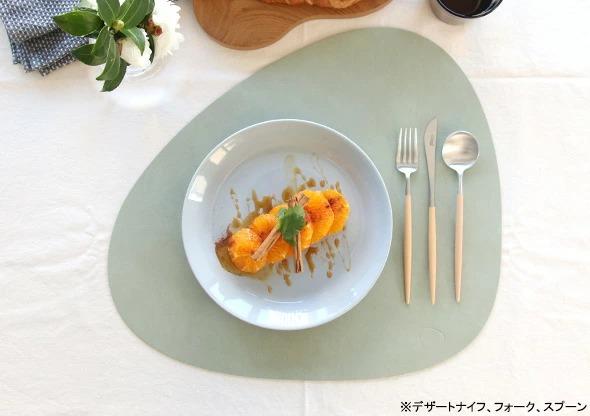 MOCOMICHI HAYAMI 別注カラー クチポール GOAベージュ | デザートスプーン