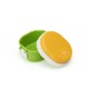 GEL-COOL ランチボックス Dome Sサイズ | マンゴーイエロー × アスパラガスグリーン | #902 MOCOMICHI HAYAMI