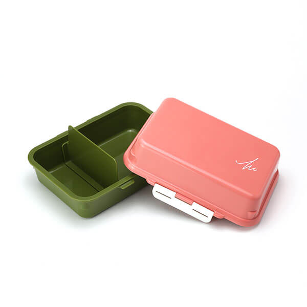 GEL-COOL ランチボックス | デリ | マカロンピンク × オリーブグリーン  | #913 MOCOMICHI HAYAMI