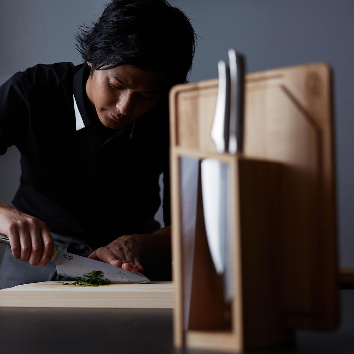 三徳包丁 18cm | Michi