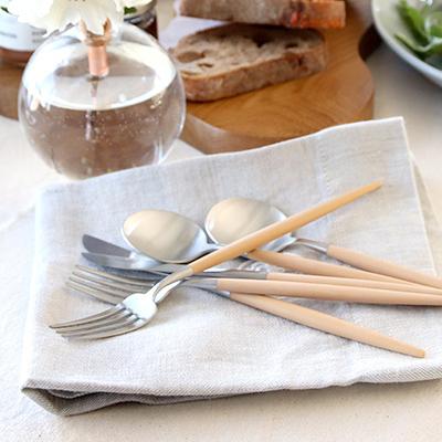 MOCOMICHI HAYAMI 別注カラー クチポール GOAベージュ | デザートナイフ