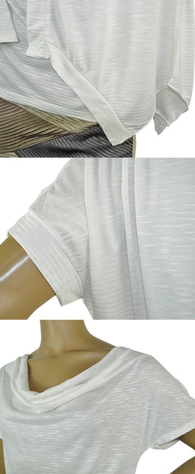 SALE 春夏 インポート カットソー LEVANTE R276/77 カットソーアンサンブル オフホワイト