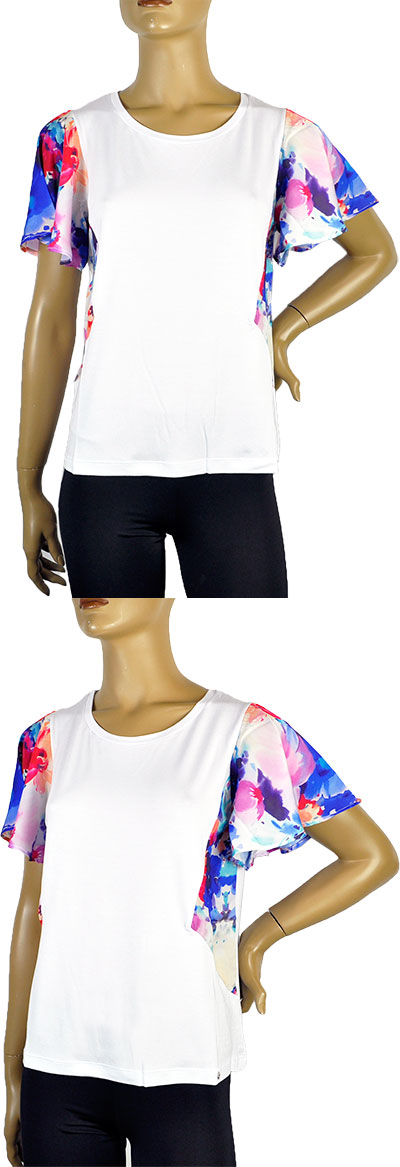 SALE 春夏 インポート カットソー ANIMA GEMELLA デザインt-シャツ