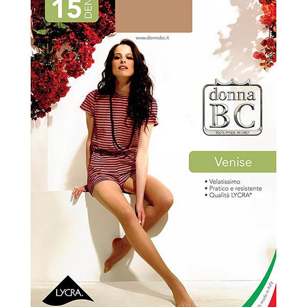 イタリア インポート ストッキング B.C. VENISE 15デニール 透明ストッキング