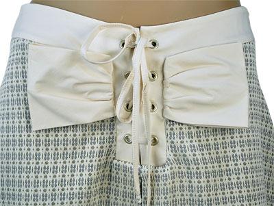 SALE 春夏  インポート スカートIMPERIAL サマーツイードスカート グリーン系