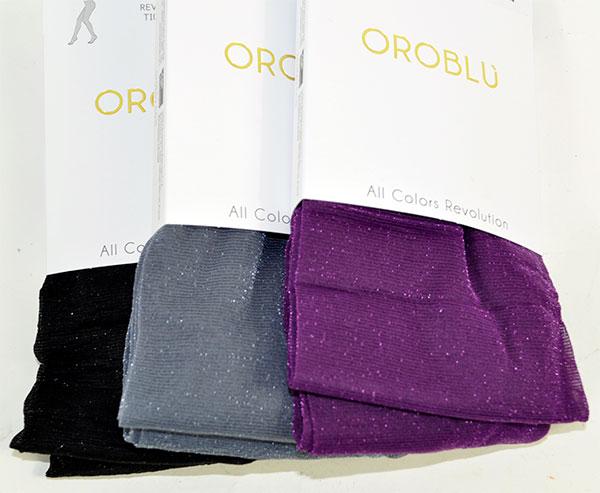 イタリア インポート 高級ブランド ラメカラータイツ OROBLU  ALL COLORS REVOLUTION ラメカラータイツ 7色