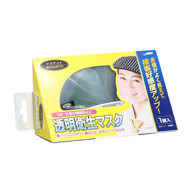 透明衛生マスク マスケット 1個