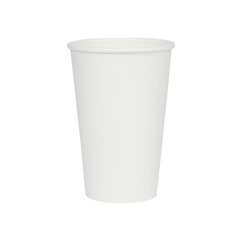 厚紙カップ 白 16オンス 1,000個
