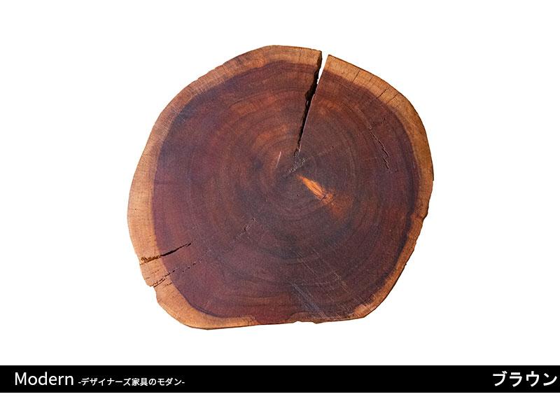 天然木の丸太スツール|アカシア